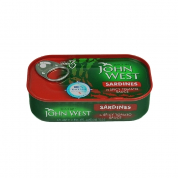 JW SARDINE IN SOS TOMAT PICANT 120g