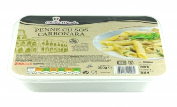 Penne cu sos carbonara Choice Minute, 300g