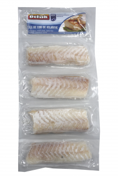 Fileuri de cod DeFish 4 x 100 g
