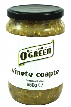 Vinete coapte O'Green, 650g